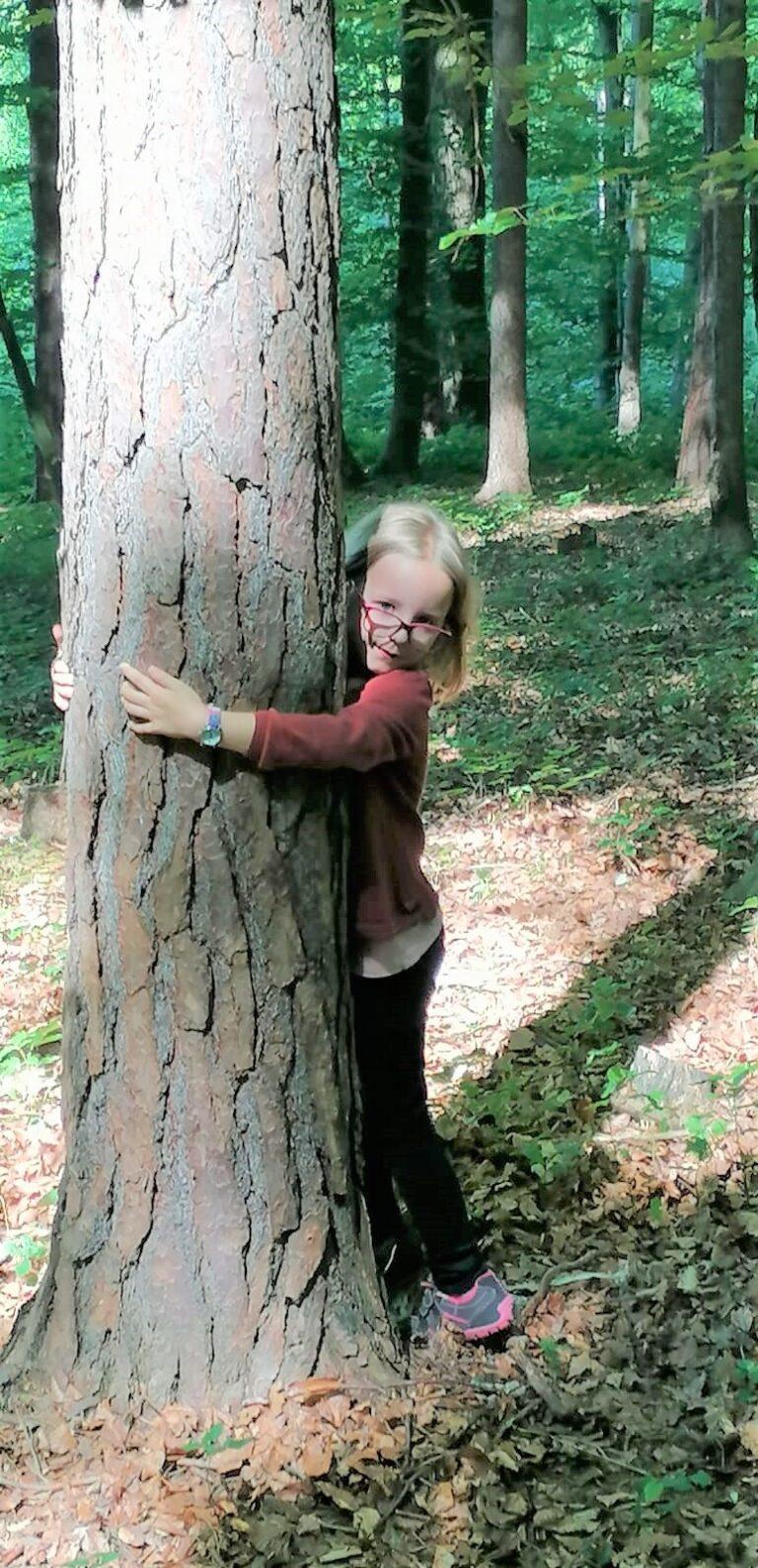 Waldspiele der 1. Schulstufe